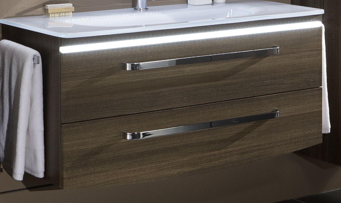 Marlin spirit unterschrank mit led bel 100 cm srwu102bl for Ausstellungsm bel günstig kaufen
