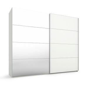 55S8 Schwebetürenschrank - 1 Spiegeltür - Breite 270 cm