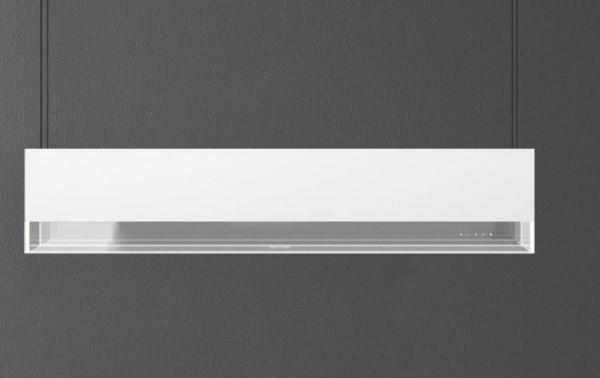 Falmec Vetra Weiß, Inselhaube, 120 cm