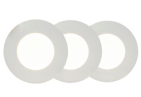 AEG Orbita LED-Einbauleuchte 3er-Set Weiß AEG191080