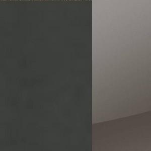 Korpus Grau-metallic / Front Hochglanz Lavagrau