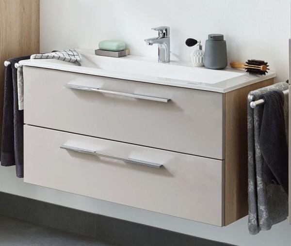 puris fine line waschplatz 95 cm mit keramik oder mineralgussbecken g nstig kaufen m bel. Black Bedroom Furniture Sets. Home Design Ideas