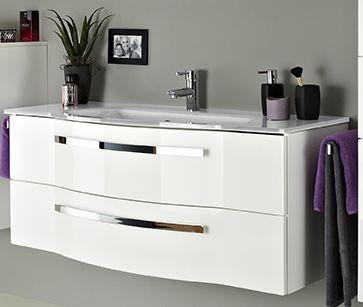 Pelipal Fokus 4005 Waschtisch-Set - 117 cm