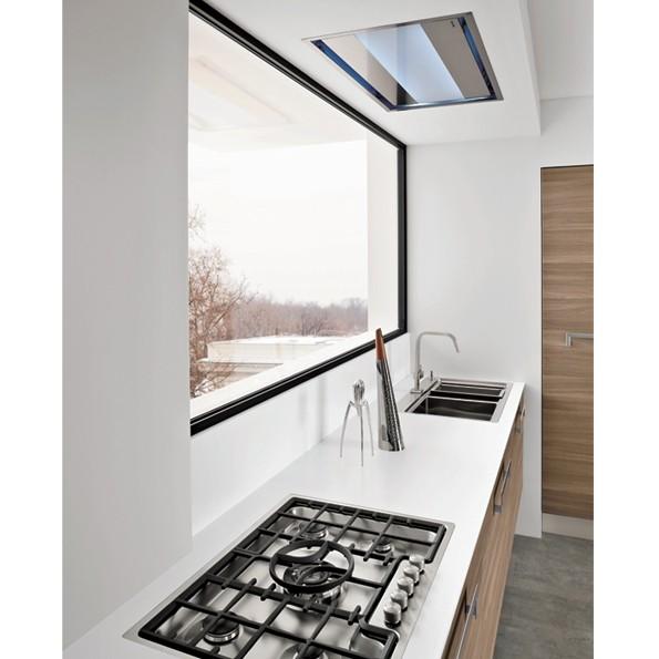 Falmec Nuvola 90, Design+, Deckenlüfter, 90 cm, weiß