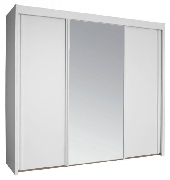 Rauch Dialog Schwebeturenschrank Imperial Spiegel Holzdekor
