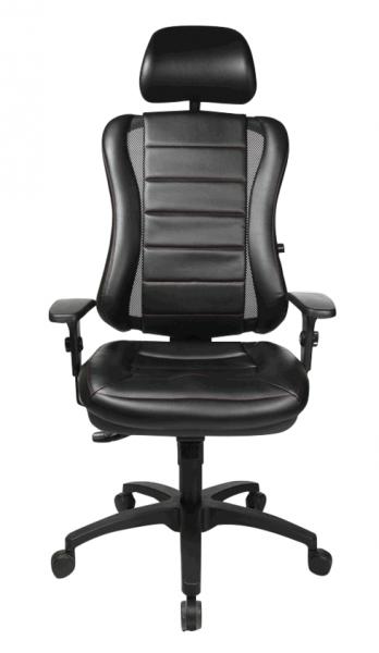 Topstar Bürostuhl Head Point RS mit Armlehnen Fußkreuz schwarz HE30PS-X