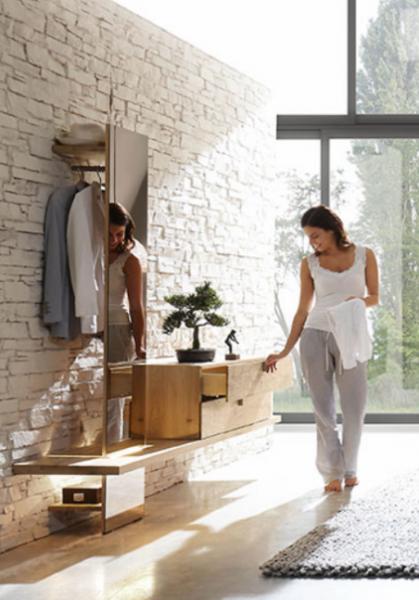 Thielemeyer Cubo Garderobe mit Spiegel günstig kaufen | Möbel-Universum