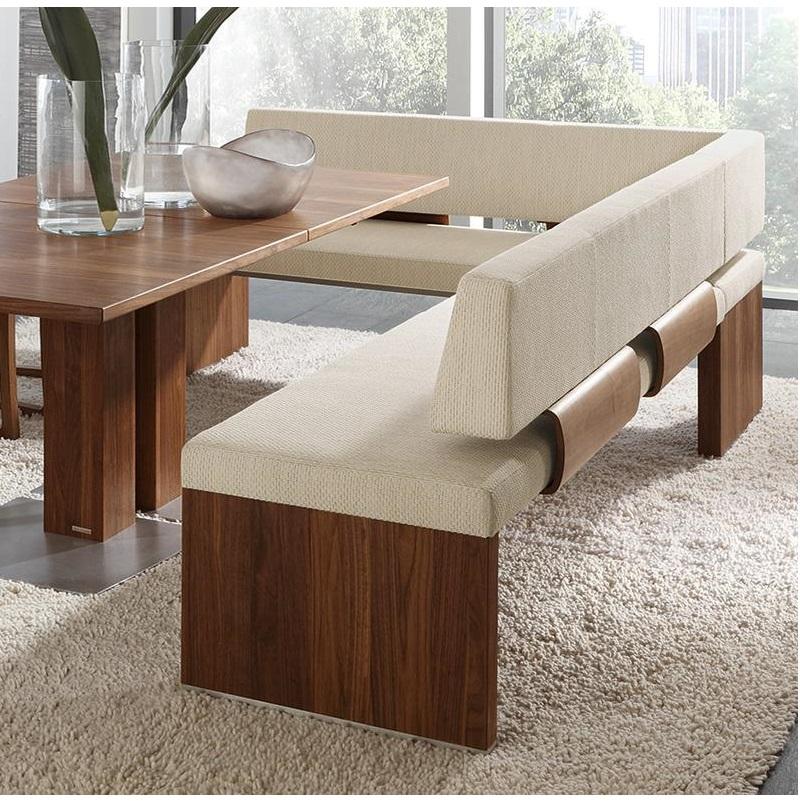 Eckbank Holz Leder Modern | Rheumri.Com