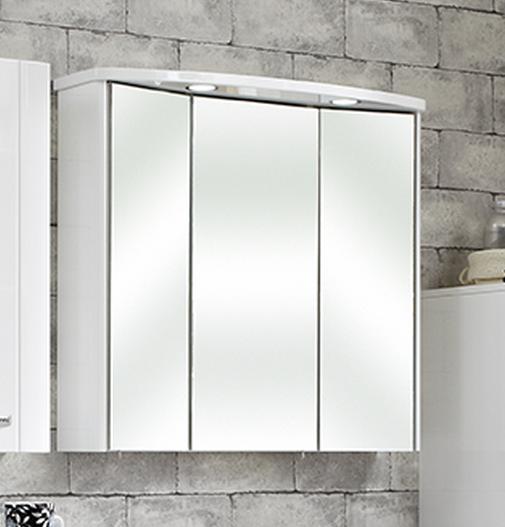 Pelipal fokus 3005 3d spiegelschrank sapri 80 cm 993 for 3d spiegelschrank