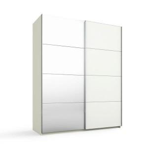 55S6 Schwebetürenschrank - 1 Spiegeltür - Breite 181 cm