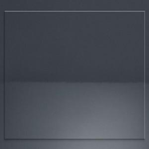 622 anthrazit Glanz - Rahmenfront