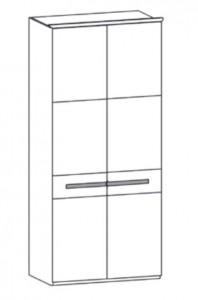 190 - 2 Holztüren