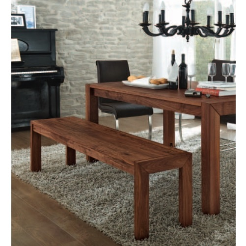 Esszimmer Holzbank Und Einzelbänke Sind Eine Schöne Alternative Zu  Esszimmerstühlen
