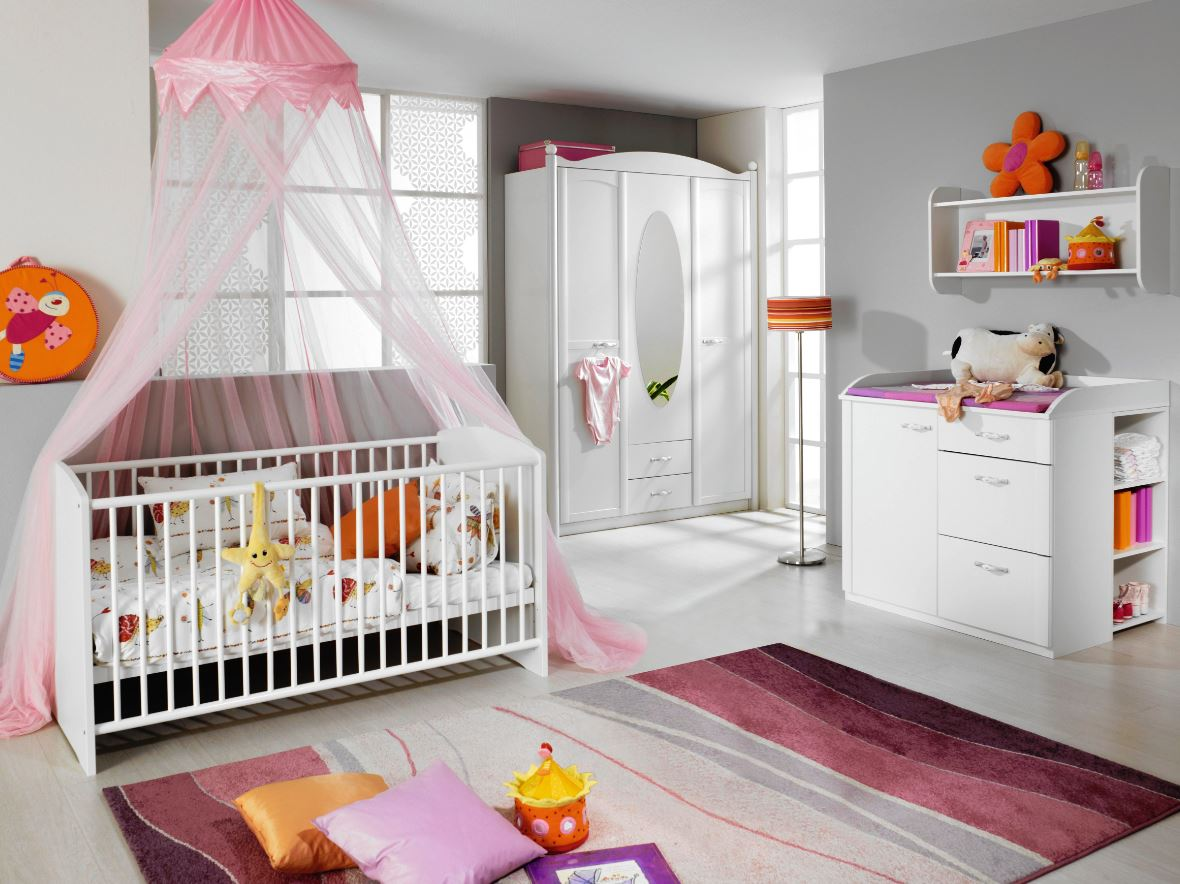 rauch packs lilly babyzimmer 4 teilig g nstig kaufen m bel universum. Black Bedroom Furniture Sets. Home Design Ideas