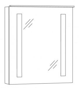 Spiegelschrank 60 cm SFLS6