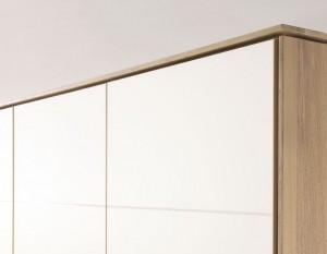 Passepartout-Rahmen Naturbuche für 5-türigen Kleiderschrank