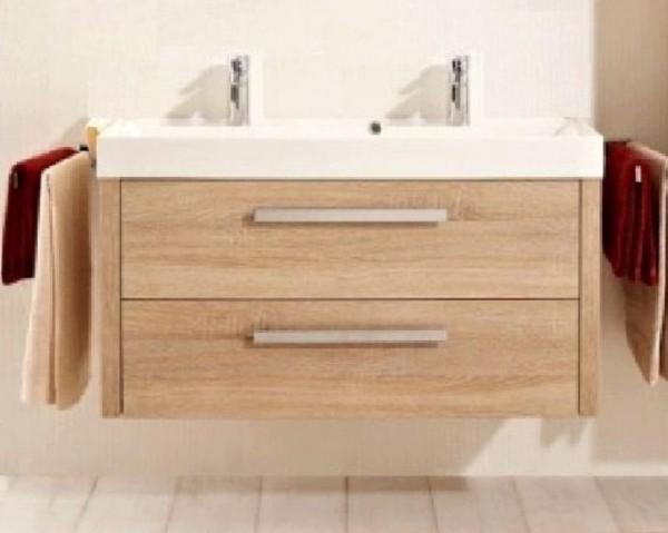 pelipal lardo waschtisch set 100 cm doppel g nstig kaufen m bel universum. Black Bedroom Furniture Sets. Home Design Ideas