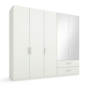 5S54 Kombischrank - 2 rechte Spiegeltüren - Breite 250 cm