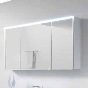 mit 6010-SPS 05 Spiegelschrank mit LED-Lichtkranz oben, 3-trg