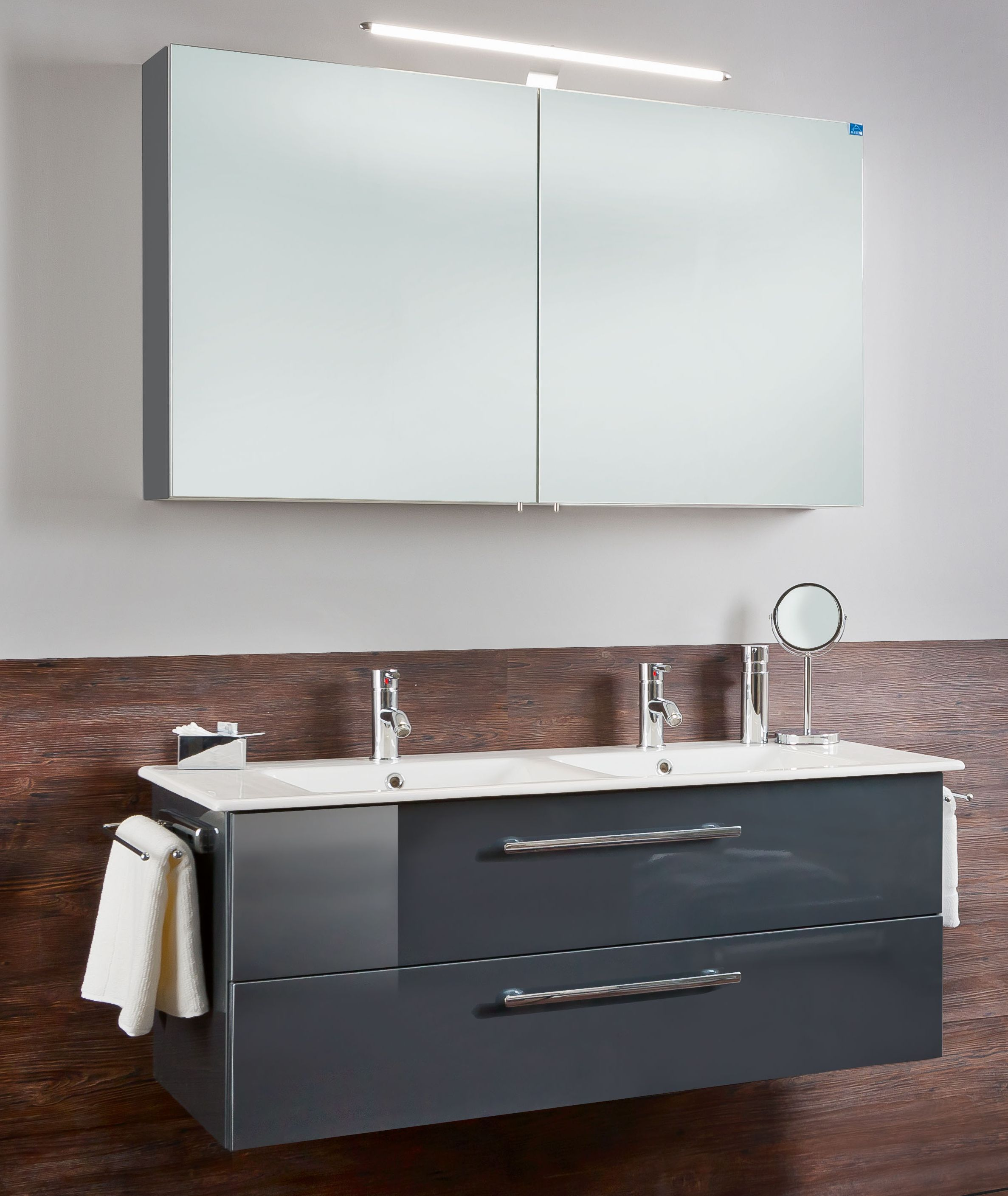 marlin bad 3030 christall 120 cm kombination 2 g nstig kaufen m bel universum. Black Bedroom Furniture Sets. Home Design Ideas