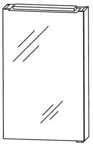 Spiegelschrank 40 cm S2A514B1DL