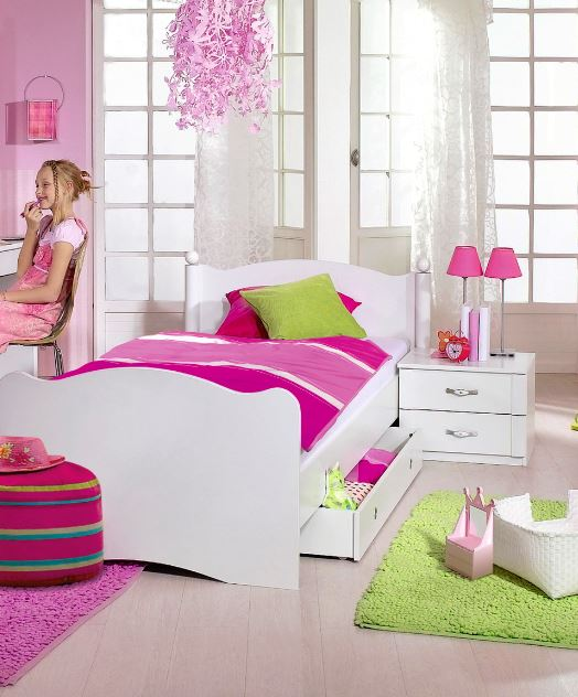 rauch packs lilly kinderbett 902y g nstig kaufen m bel universum. Black Bedroom Furniture Sets. Home Design Ideas