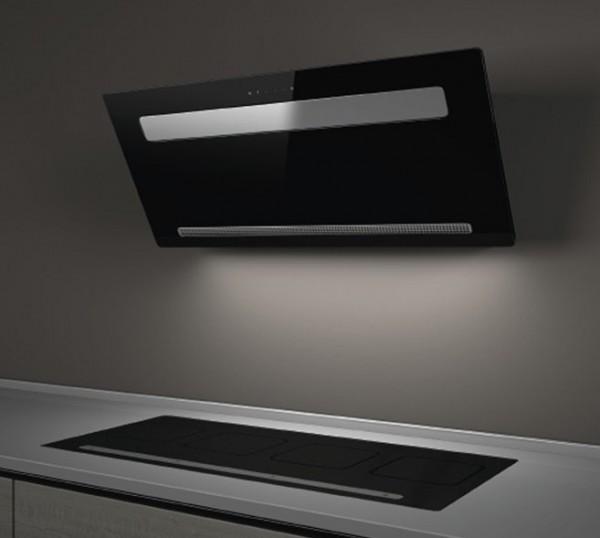 gutmann wandhaube amplia 5300w880b intern abluft 88 cm glas wei schwarz g nstig kaufen. Black Bedroom Furniture Sets. Home Design Ideas