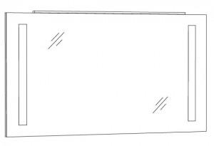 Spiegelpaneel 120 cm SPFLS12