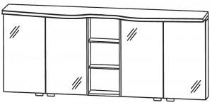 Spiegelschrank 180 cm SET41183