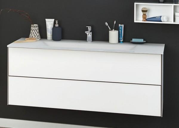 Puris Ice Line Waschplatz 120 cm - Einzelwaschtisch-Lösung