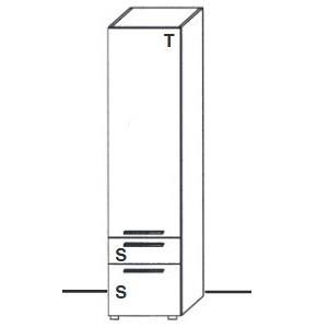 U11-312KL - Tür Anschlag links