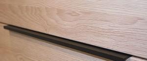 339 - Griffleiste Schwarz matt