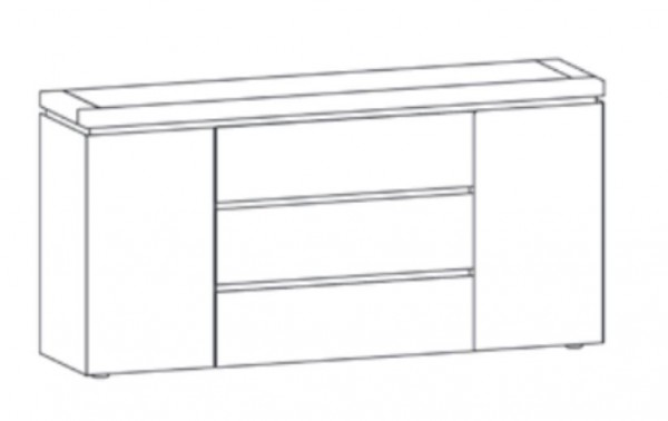 Thielemeyer Isola Kommode 120