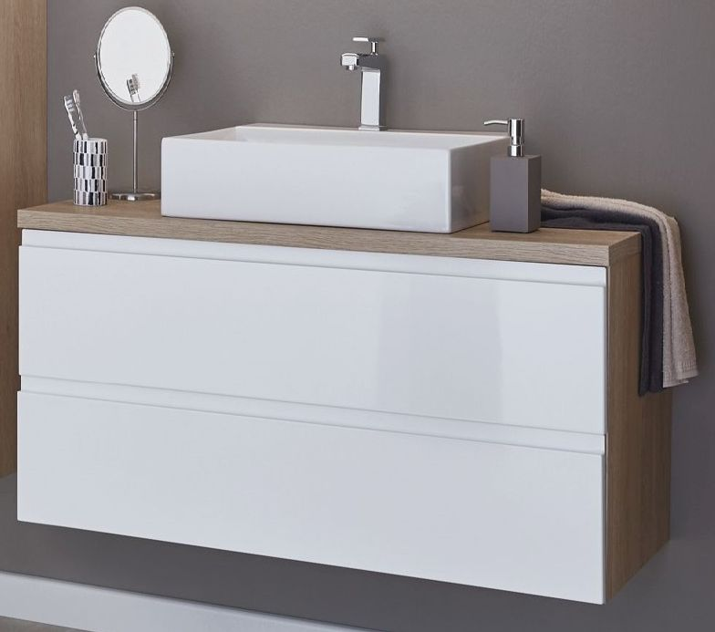 puris variado 2 0 waschplatz 100 cm breit g nstig kaufen m bel universum. Black Bedroom Furniture Sets. Home Design Ideas
