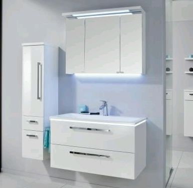 puris komplett sets puris badm bel bis 90 cm breit g nstig kaufen m bel universum. Black Bedroom Furniture Sets. Home Design Ideas