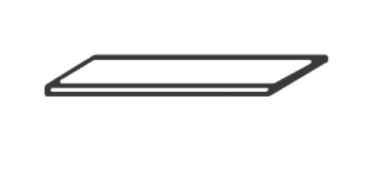 Loddenkemper Einlegeboden (Nachbildung) für Kleiderschrank