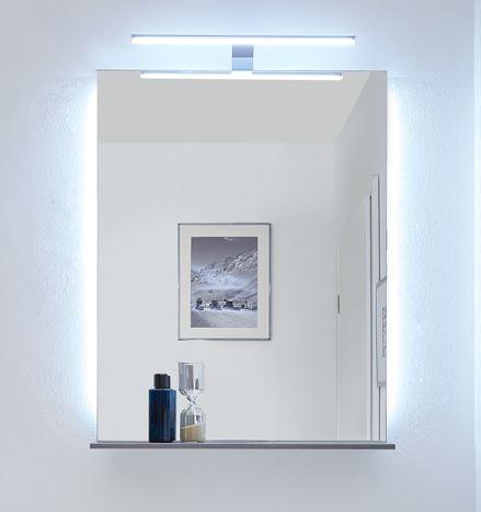 Pelipal Solitaire 6910 Flächenspiegel mit seitlicher Effektbeleuchtung / 70 cm