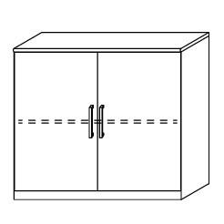 6519 Wäschekommode, BxHxT: 100x86x38 cm