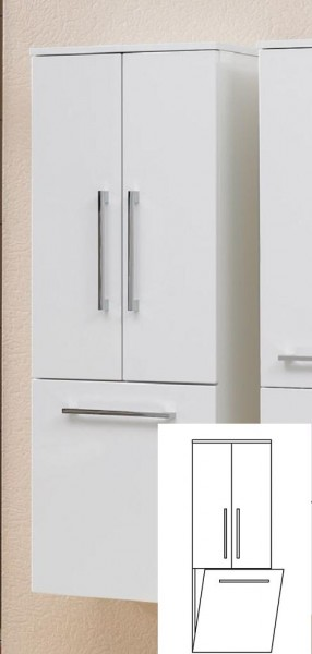 pelipal lunic midischrank mit w schekippe 45 cm lu md 03 g nstig kaufen m bel universum. Black Bedroom Furniture Sets. Home Design Ideas