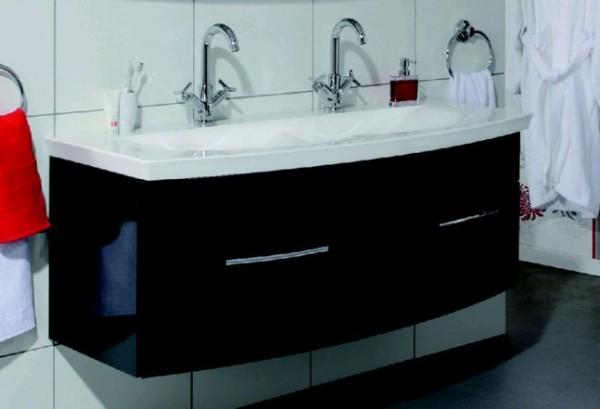 Puris Waschtischunterschrank 140 cm WUA35143M Saphirblau - Sonderpreis - Sofort lieferbar