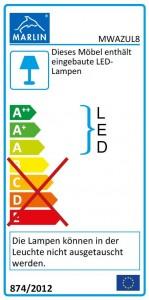 mit LED-Lichtleiste (80 cm)