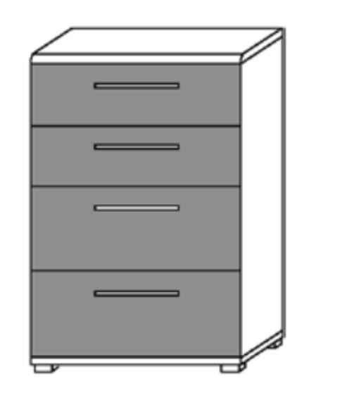 Loddenkemper Luna Kommode 4164/4165/4241 günstig kaufen | Möbel ...