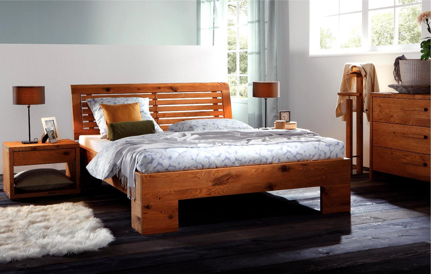 oak line wild massiv oak line wild betten g nstig. Black Bedroom Furniture Sets. Home Design Ideas