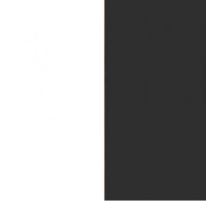 Front alpinweiß / Korpus grau-metallic