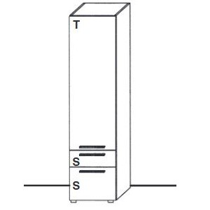 U11-312KR -Tür Anschlag rechts