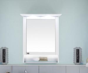 9030-SPSB 07 Spiegelschrank mit LED-Kranzbodenbeleuchtung und Beleuchtung im offenem Fach