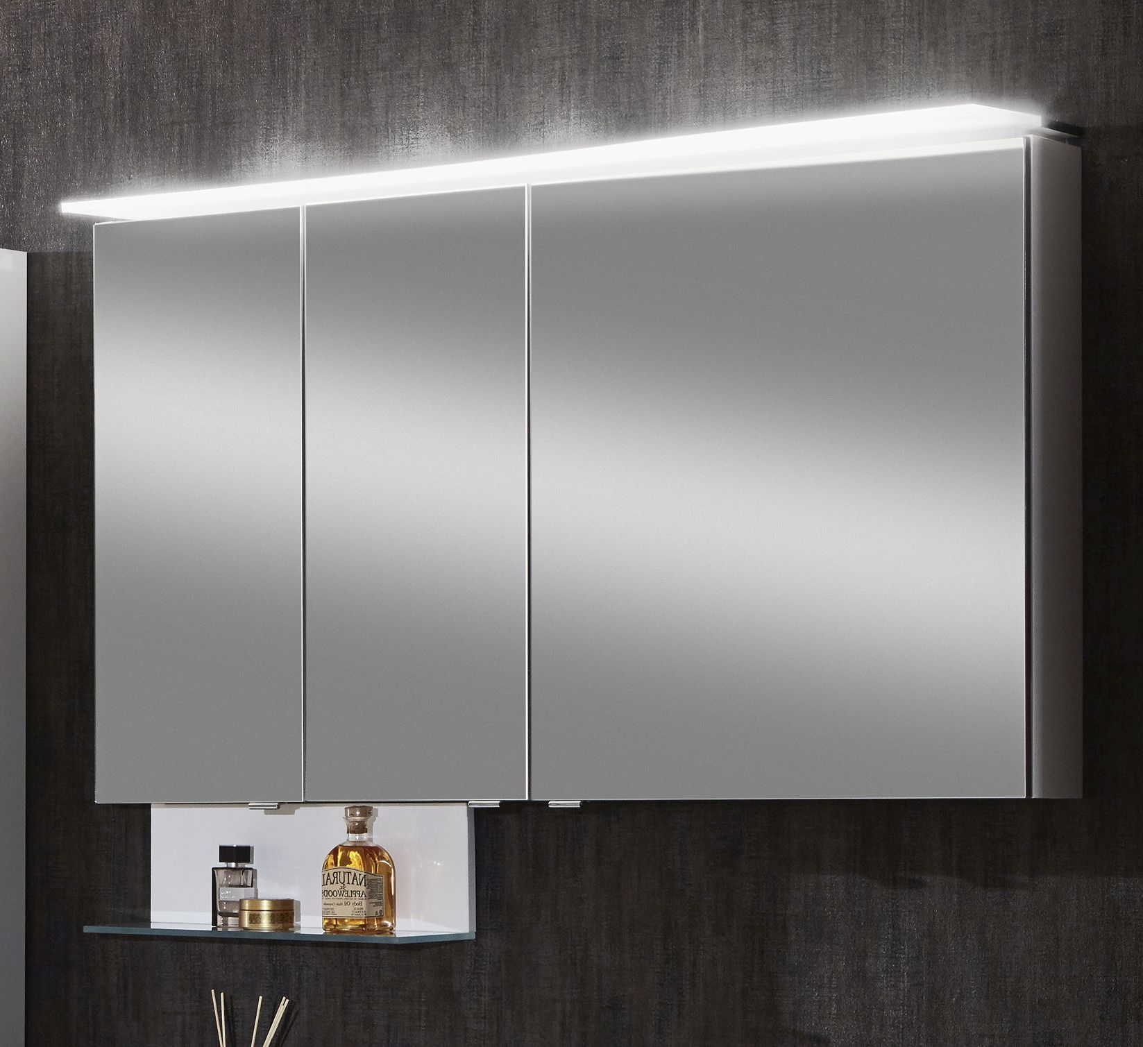marlin bad 3160 motion spiegelschrank 120 cm saos336 saoz336 g nstig kaufen m bel universum. Black Bedroom Furniture Sets. Home Design Ideas
