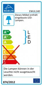 mit LED-Lichtleiste - 140