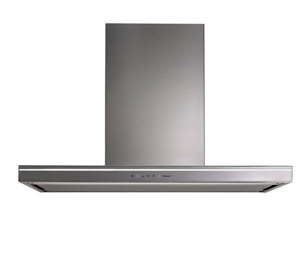 Falmec Lumina NRS 120, Wandhaube 120 cm, Edelstahl mit Blende schwarz