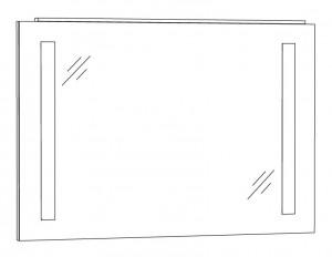 Spiegelpaneel 100 cm SPFLS10
